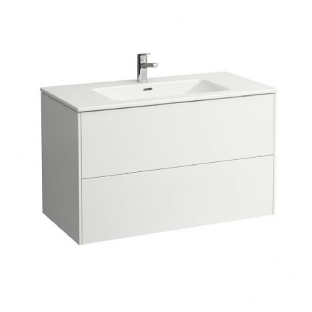864962 - Laufen Pro S Slim 1000mm x 500mm Washbasin & Base Vanity Unit - 8.6496.2